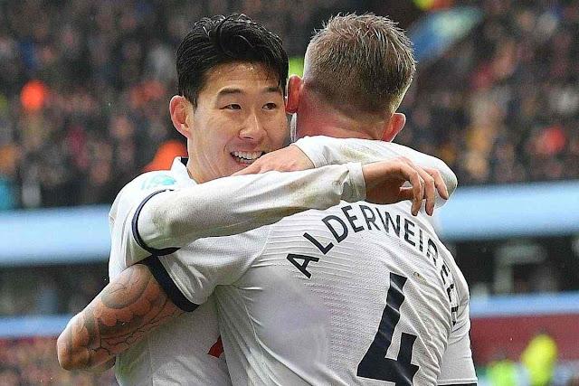 Son Heung-Min bawa Tottenham hancurkan tuan rumah Aston Villa 2-3
