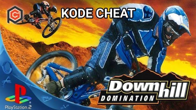 Kumpulan Kode Cheat Downhill Domination PS2 Terlengkap