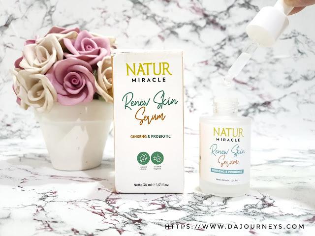 Review Natur Miracle Renew Skin Serum