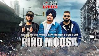 Pind By Sidhu Moose Wala - Lyrics