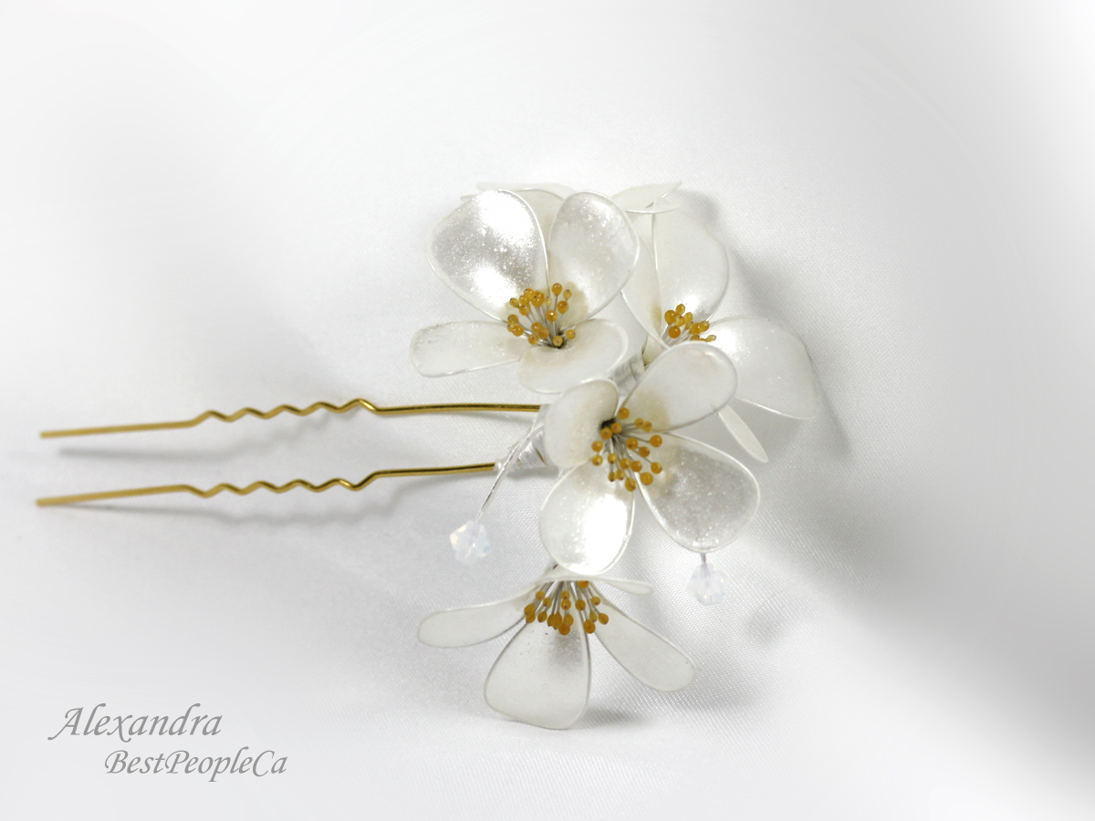 Hair Pins Kanzashi And Much More By Alexandra From Bestpeople