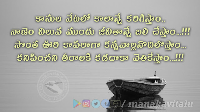 Inspirational quotes in Telugu with images
