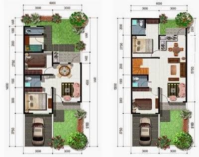 gambar desain renovasi rumah type 36 terbaru   model