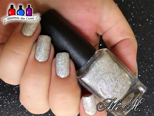Colors by Llawore, The Journey Collection 2016, The Darkest Days, Teal, Holografico, Out of the Darkness, Glitter, PRO-FX Supreme Gel, DRK Nails, La Femme, Branco, Sugar Bubbles, SB047, Alê M.