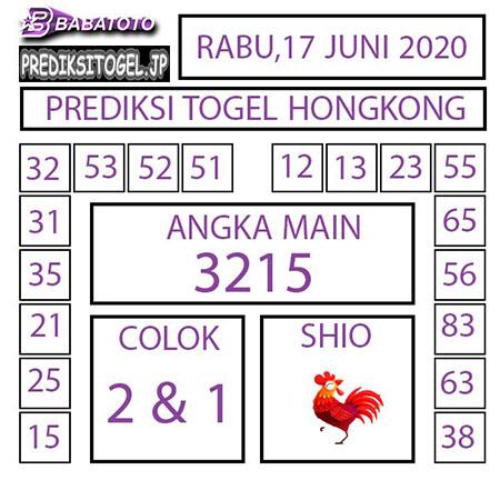 Prediksi HK Malam Ini 17 Juni 2020 - Babatoto