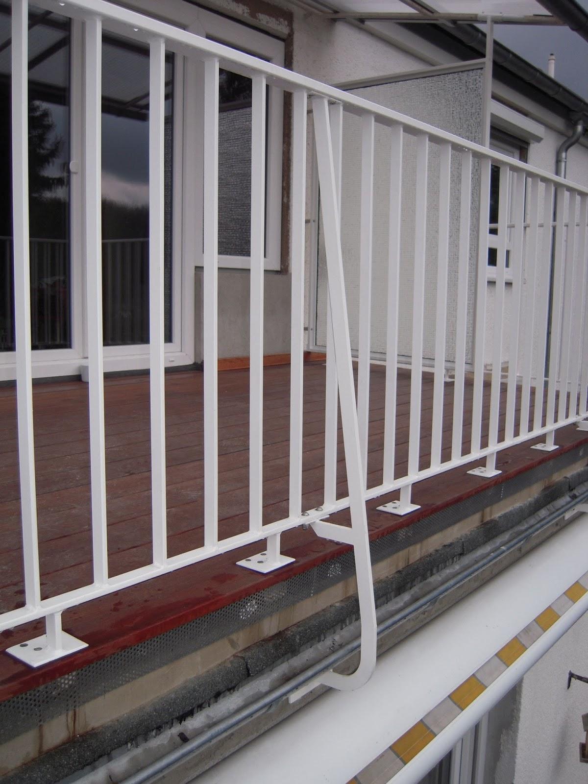 Balkonsanierung Balkongelander Windschutz Frobel Metallbau