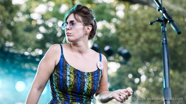 U.S. Girls at Royal Mountain Records Festival at RBG Royal Botanical Gardens Arboretum on September 2, 2018 Photo by John Ordean at One In Ten Words oneintenwords.com toronto indie alternative live music blog concert photography pictures photos