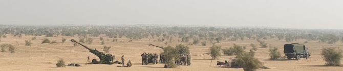Brahmastra Corps Conducts Firing of Newly-Inducted M777 Ultra-Light Howitzers
