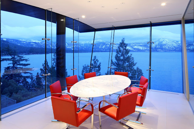 Lake Tahoe dining room