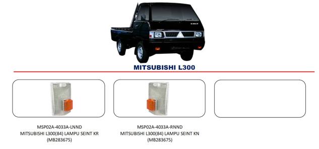 Bodypart Mitsubishi L300