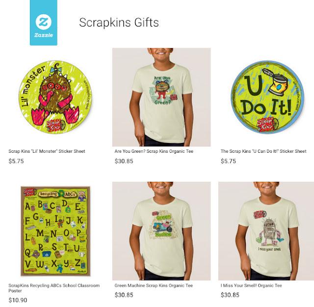 https://www.zazzle.com/scrapkins+gifts