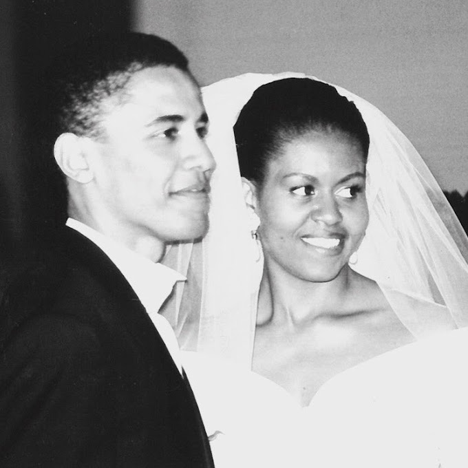 Michelle Obama shares Adorable throwback wedding photo to celebrate 25th anniversary