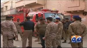 Golimar, 18 killed, buildings under rescue operation underway