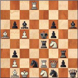 Problema de mate en 2 jugadas, Francisco Novejarque, Magasinet - 1er semestre 1950