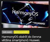 HarmonyOS obdrží do června většina smartphonů Huawei. - AzaNoviny