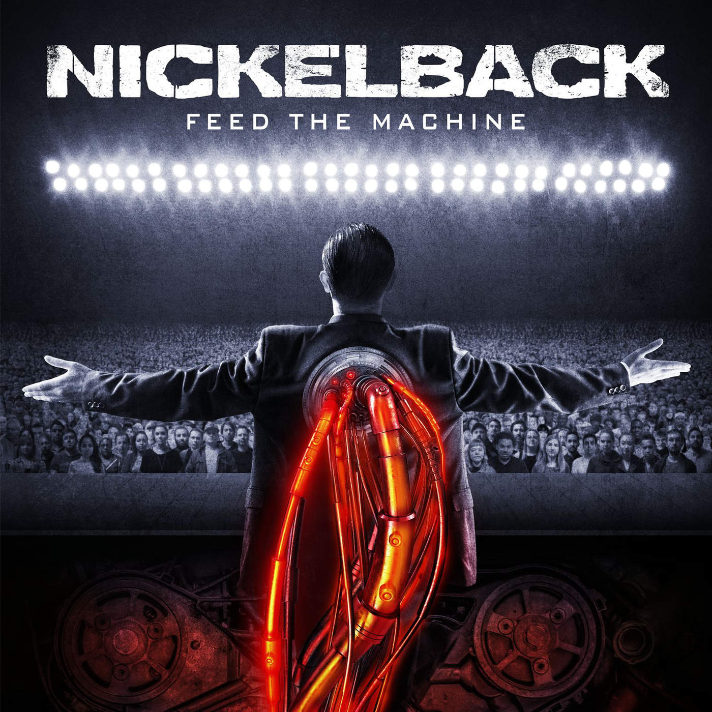 Nickelback - Feed the Machine Cover