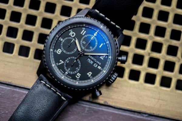 Breitling Navitimer 8 Chronograph 43 - DLC Blacksteel