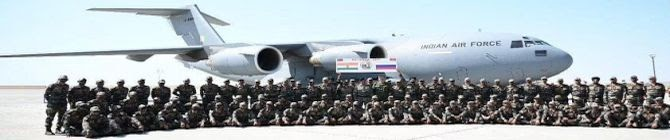 Indian Soldiers Arrive In Russia For Indra-2021 Drills