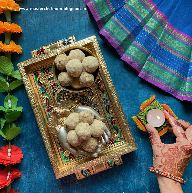 Multigrain Ladoo/Laddu Recipe
