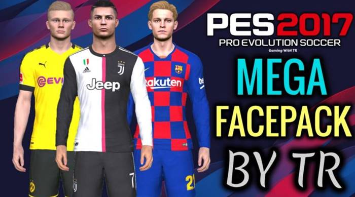 New Brand Mega Facepack Pes 2017 Patch Pes New Patch Pro Evolution Soccer