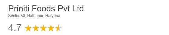 Priniti Foods Pvt Ltd reviews
