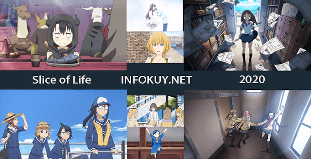 Rekomendasi Anime Slice of Life 2020