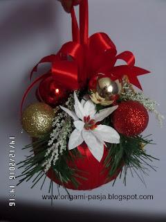 gwiazda betlejemska, święta, wigilia, boże narodzenie, rękodzieło, diy, handmade