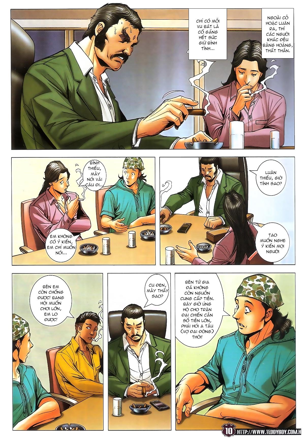 Người Trong Giang Hồ chapter 1713: yêu nghiệt trang 10