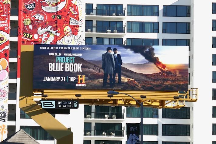 Project Blue Book season 2 billboard