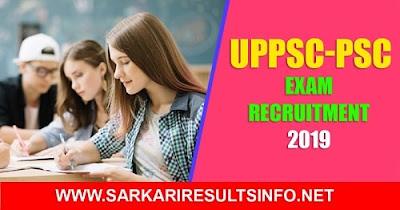 UPPSC PSC : The Uttar Pradesh Public Service Commission Mains Exam Recruitment.