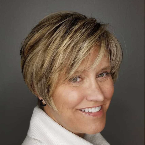 pixie haircuts women over 50