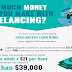 How Much Money Can You Make Freelancing? #infographic