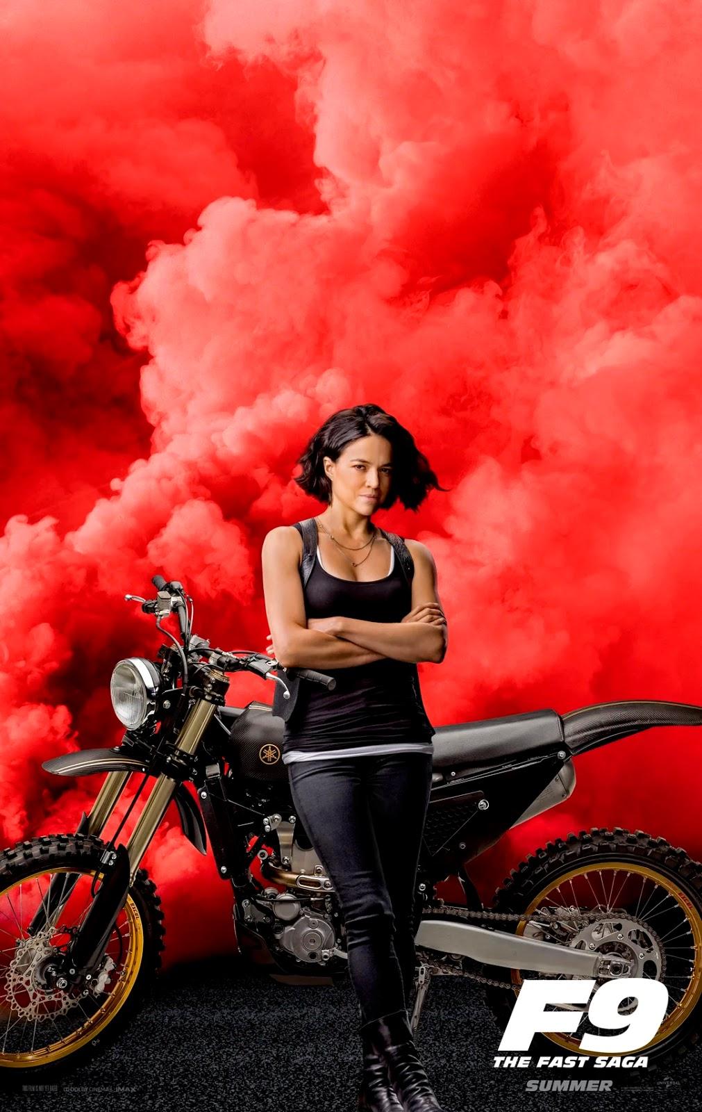 Velozes e Furiosos 9 - Poster Michelle Rodriguez
