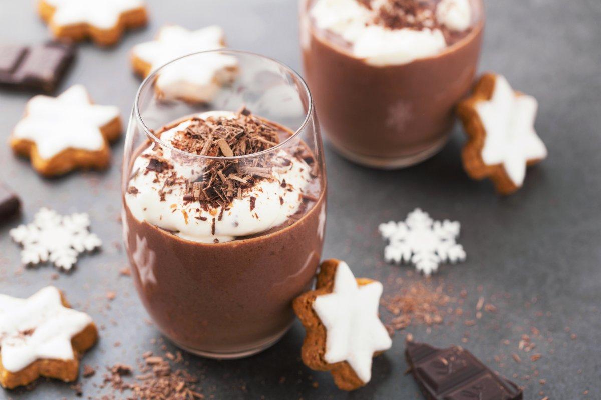 طريقة تحضير موس الشوكولاتة السريع