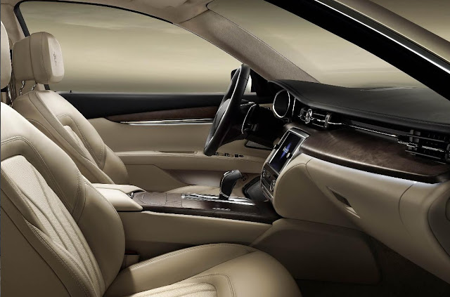 2013 Maserati Quattroporte Elegant Interior