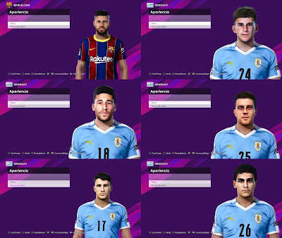 PES 2021 NEW FacePack by 0coolmodfaces