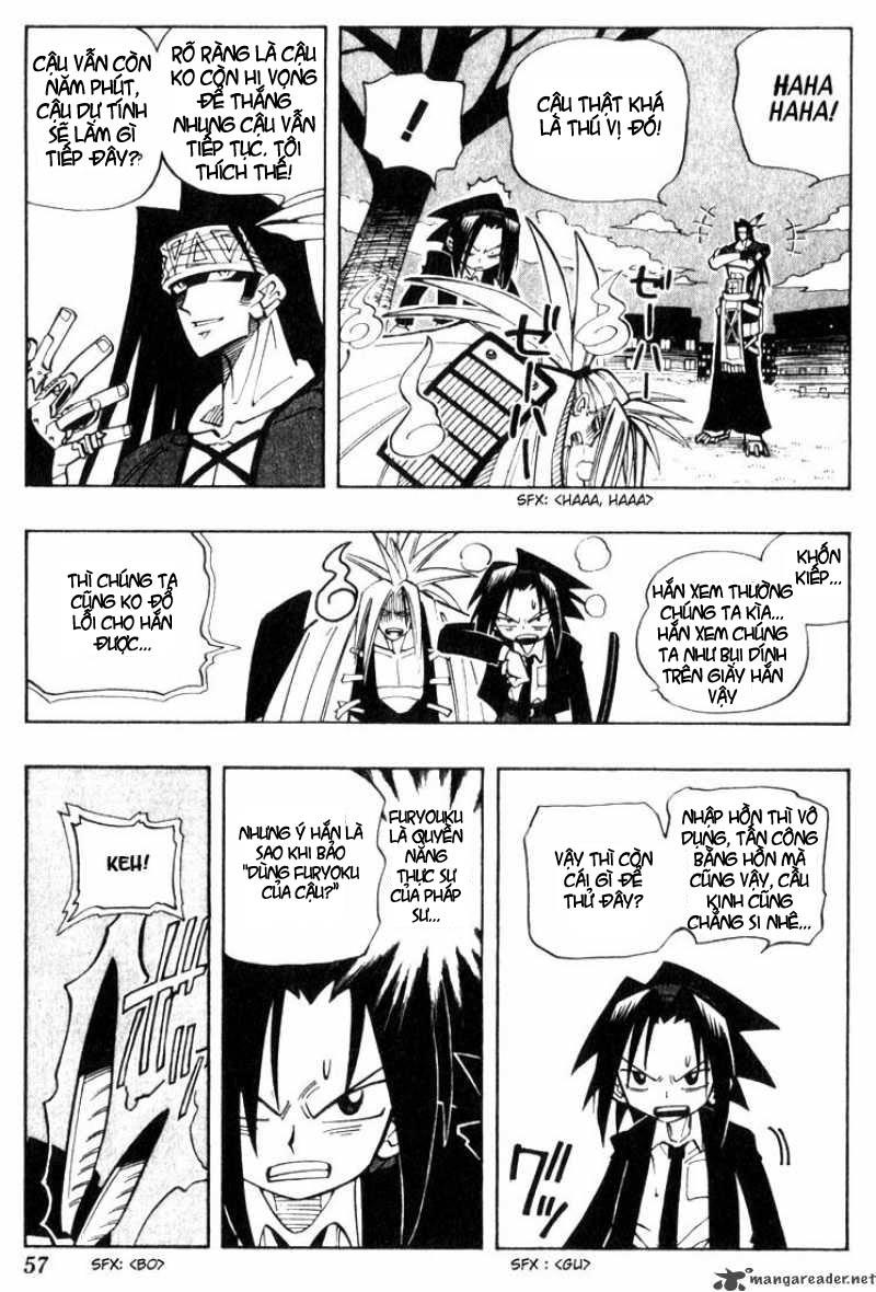 Shaman King [Vua pháp thuật] chap 29 trang 9