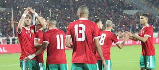 تشكيل مباراة المغرب ضد ناميبيا مباشر عبر سوفت سلاش