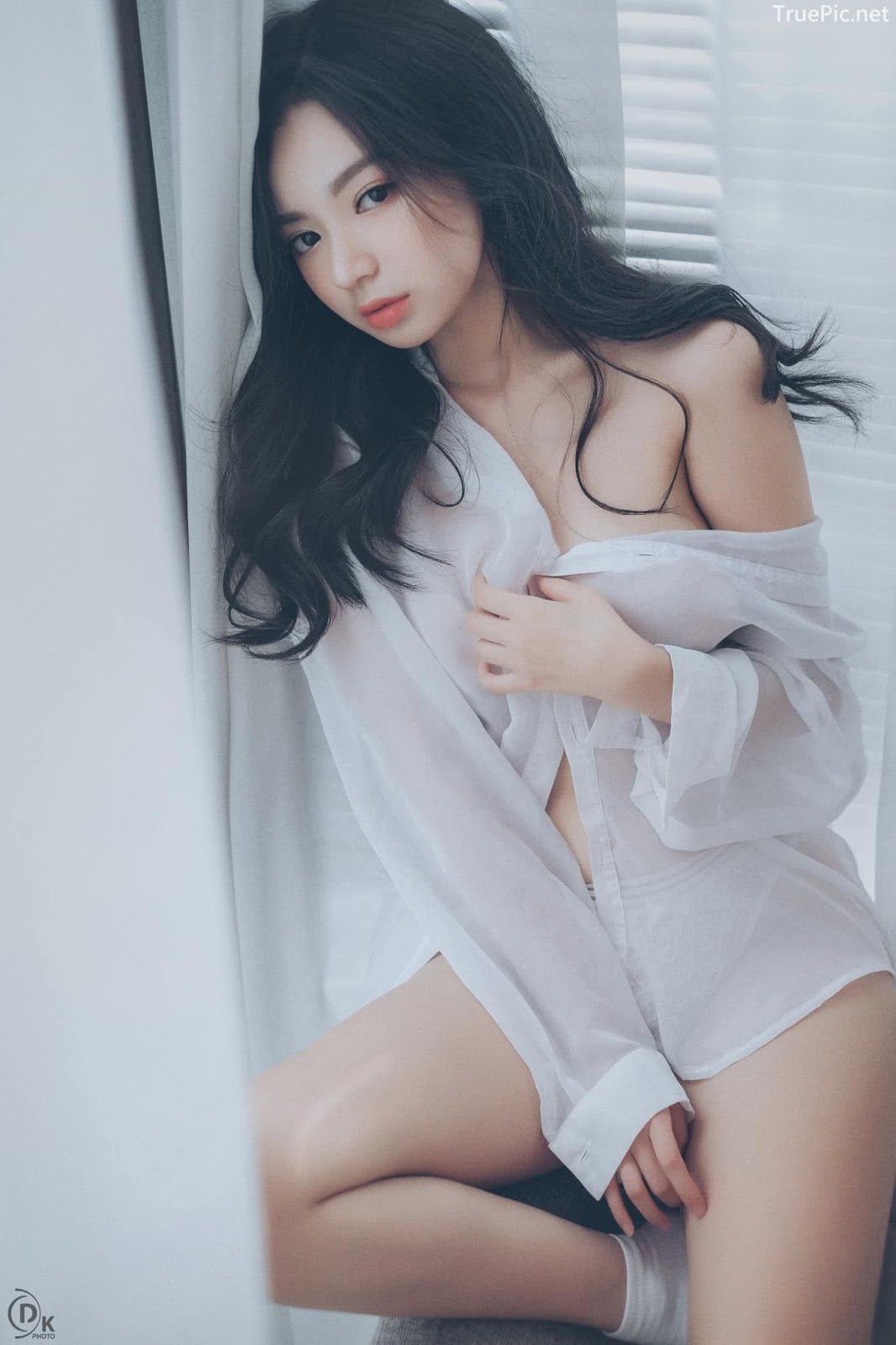 Vietnamese Sexy Model - Vu Ngoc Kim Chi - Beautiful in white - TruePic.net- Picture 19