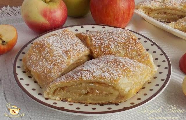 Strudel cu mere, bun si sanatos