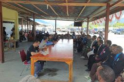 Pasca Pembakaran dan Pengrusakan Gedung di Yalimo, TNI-Polri Adakan Pertemuan dengan Beberapa Tokoh