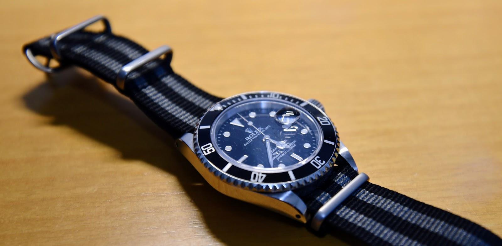 ロレックスサブマリナーデイト Rolex Submariner-date