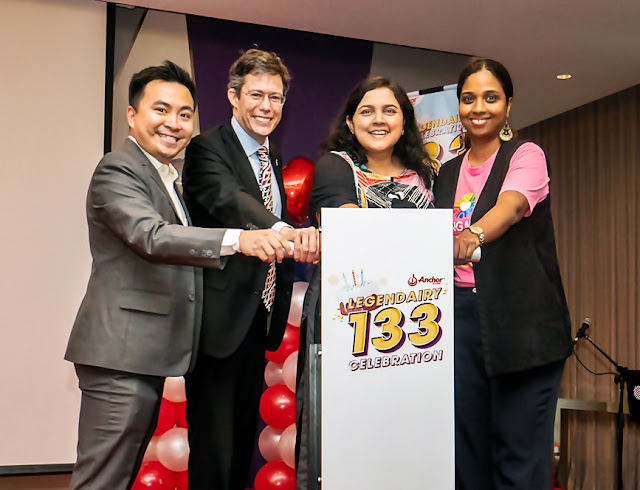 Launching of Anchor Legendairy 133 Celebration Contest Site