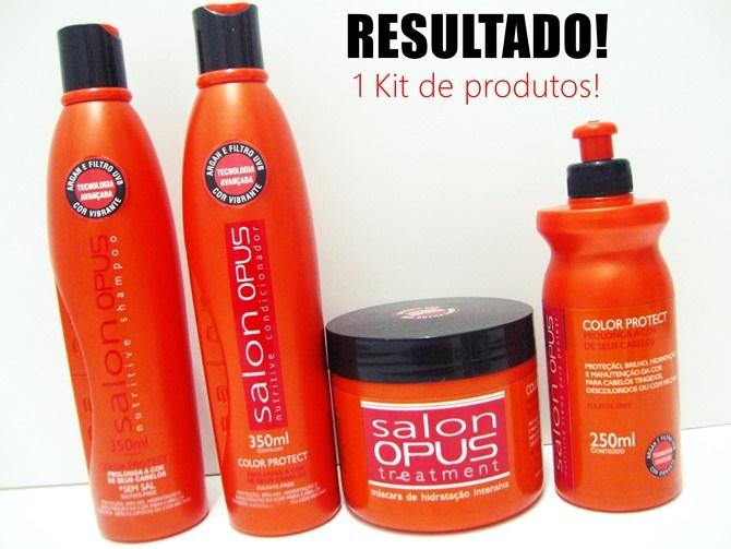 Sorteio 1 kit de Produtos Salon Opus Color Protect