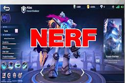 Daftar Hero Mobile Legends Yang Kena Nerf Terbaru 2020