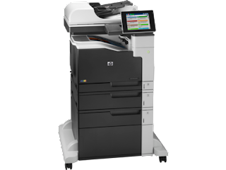 Download HP LaserJet MFP M775f drivers