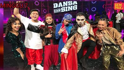 Live Streaming Dansa Dan Sing 2020 Minggu 7 (Separuh Akhir)