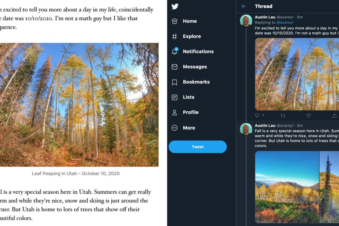 The WordPress feature can convert blog posts into Tweets