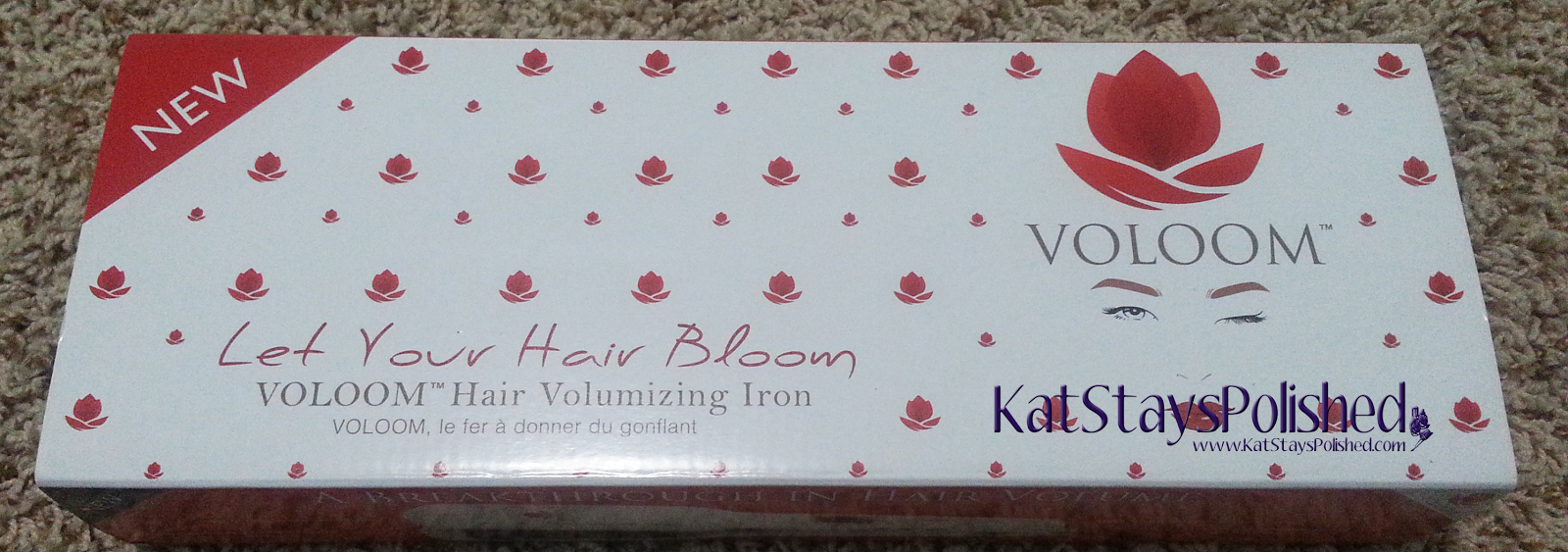 Voloom Hair Volumizing Iron | Kat Stays Polished