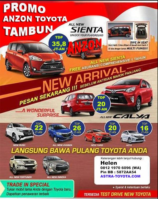 Promo Toyota Bekasi 2016